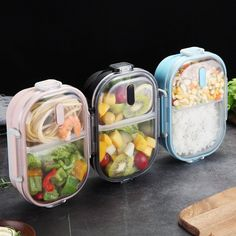 - SaicleHome Tragbare auslaufsichere Lunchbox Schulbüro Picknick 304 Edelstahl Be… SaicleHome Portable Leak-proof Lunchbox School Office Picnic 304 Stainless Steel Bento Box – NewChic Mobile - Stainless Steel Lunch Containers, Stainless Steel Bento Box, Cheap Lunch Boxes, Lunch Box Containers, Leak Proof Lunch Box, Boite A Lunch, Bento Recipes, Insulated Lunch Box, Bento Box Lunch