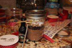 Tiffany and Chad in Real Life: Christmas Pinterest Craft Day: Hot Chocolate Bar & Mason Jars