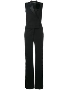 Shop Alexander McQueen tailored jumpsuit.