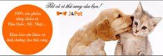 Thức ăn cho chó, đồ ăn nhập khẩu Hàn Quốc, Mỹ   J&Pet Shop