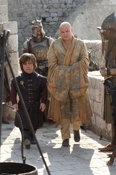 Lord Tyrion Lannister & Lord Varys, the Master of Whisperers