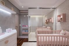 home design dream Baby Bedroom, Dream Bedroom, Kids Bedroom, Study Room Decor, Nursery Room Decor, Ideas Habitaciones, Foto Baby, Luxurious Bedrooms, Baby Decor
