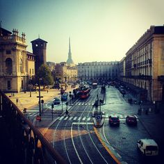 Everyone should visit Turin at least once in a lifetime #PiazzaCastello #Turin #Italy