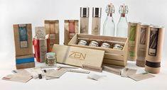 Zen Artisan Blends & Minerals Package Design