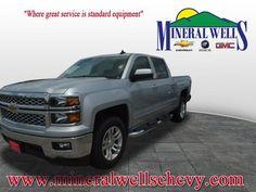 2015 Chevrolet Silverado 1500 Crew Cab Short Box 2-Wheel Drive LT w/1LT