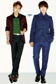 SUPER JUNIOR | KYUMIN <3 Cho Kyuhyun and Lee Sungmin (KYUMIN)