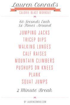 40qlsWzIFDayqmsX1AF96dHD.jpeg:Amazon:photo    @LaurenConrad.com Workout get fit plan
