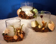 sea shells crafts ideas | My Gallery of Seashell Art | Rosebuds and Seashells, Sailor's ...