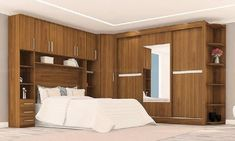Fitted Bedroom Furniture, Fitted Bedrooms, Beautiful Bedroom Designs, Beautiful Bedrooms, Tree Stump Furniture, Bedroom Cupboards, Modern Rustic, Master Bedroom, Sweet Home