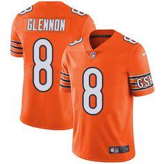 67ab40310e5 ... Chicago Tribune Bills TreDavious White 27 jersey Nike Bears 8 Mike  Glennon Orange Mens Stitched ...