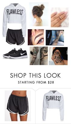 """""""Untitled #169"""" by painaway23 on Polyvore featuring NIKE and WithChic"""