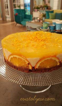 Portakallı Bisküvili İrmik Tatlısı