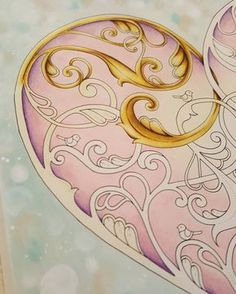 Going for gold .... #johannabasford #johannabasfordchristmasbook #johannaschristmas #adultcoloringbook #adultcoloring #wip #fabercastellpolychromos