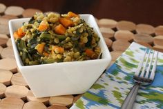 Meat-Free Meal Solution: Tasty Lentils With Sweet Potatoes and Kale