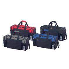 54b3d487e3 Amazon.com  Blank Duffle Bag Sports Duffel Bag in Dark Gray and Black Gym  Bag  Sports   Outdoors