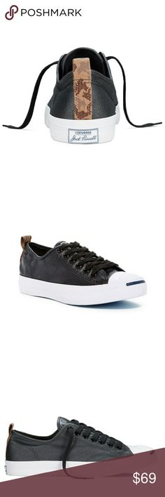 9f5cd0d12c4b NWT Converse Jack Purcell Oxford Black Camo Shoes - Brand new in box - Converse  Jack