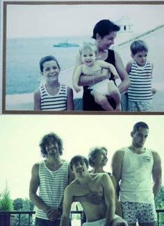 Mother and sons...how cute ;)