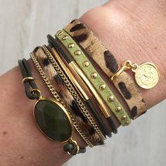 Perfect armcandy, love this! #bracelets #fashion #online www.lovelyjewels.nl