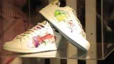 Adidas partnered with skilled Saudi artists Talal AlZeid, Turki AlRomaih, Noura Bouzo, Majed Al-Bahiti, Basmah Felemban and an international graffiti artist from UK Steffi Bow. Each of the selected artists were handed two of the adidas Originals' most iconic silhouettes — the Superstar and Stan Smith — to be reinterpreted as art installations and to re-engineer them in their own distinctive styles using graffiti, calligraphy and mixed media to bring the shoes to life.
