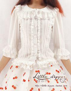 Chiffon blouse by Little Dipper (Taobao)