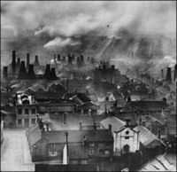 Collection of old black & white photos of Stoke-on-Trent