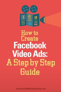 Interested in creating Facebook video ads?  Facebook video ads dont require a lot of time or money. All you need is a script and some basic gear.  In this article youll discover how to design and record your own Facebook video ads. Via /smexaminer/
