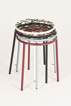 Customizable DIY String Stool By Not Tom   Design Milk