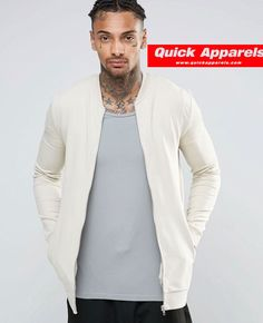 http://www.quickapparels.com/men-baseball-muscle-fit-jersey-bomber-jacket-in-beige-elastone-and-cotton.html