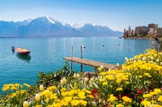 Holidays To Switzerland, Visit Switzerland, Lausanne, Hotels Portugal, Mountain Vacations, Helicopter Tour, Lake Geneva, Best Places To Travel, The Good Place