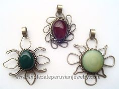 Agate Stone, Silver Star PendantsIndian Bull's Horn Pendanthttp://www.wholesaleperuvianjewelry.com