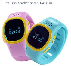 2015 GPS Tracker Bracelet For kids GPS Wristbands Smart Watch For Children Kid Smartwatch SOS With SIM 520 Childen Watch Phone