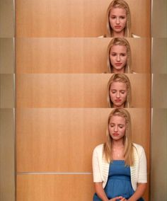 Dianna Agron as Quinn Fabray in Glee