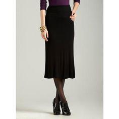 Black S Tresics Maxi Skirt