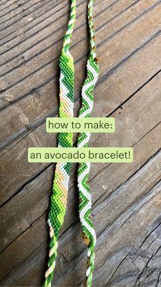 avocado bracelet tutorial!