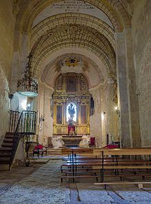 Castllo de Turégano : Iglesia de San Miguel, en el interior del Castillo