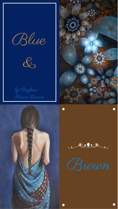 '' Blue & Brown '' by Reyhan Seran Dursun