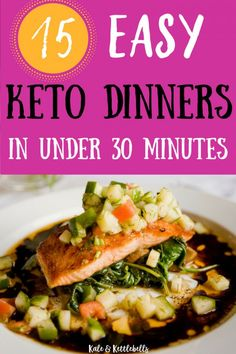 Diet Meal Plans I'm loving these easy low carb KETO DINNER recipes for busy weeknights. Spending no more than is ideal especially when on a keto diet. Vegan Keto Diet, Keto Diet List, Starting Keto Diet, Low Carb Keto, Vegetarian Keto, Ketogenic Recipes, Diet Recipes, Healthy Recipes, Diabetic Recipes