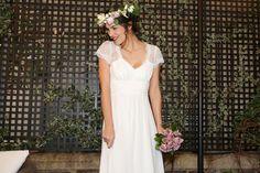 Jennifer Vernageau vous propose la robe de mariée Flora par Elsa Gary à la Rochelle