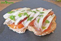 Boquerones en Aceite de Oliva sin Vinagre Tapas, Caprese Salad, Sandwiches, Food, Summer, Gastronomia, Appetizers, Salads, Olive Oil