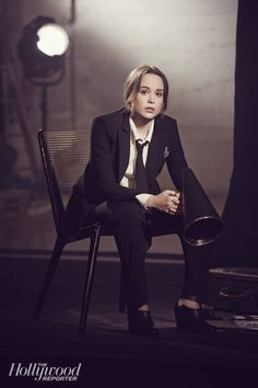 'X-Men: Days of Future Past' Star Ellen Page: Exclusive Portraits of the Actress Ph.: Olivia Malone