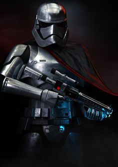 Captain Phasma by j0hnny5isal1ve.deviantart.com on @DeviantArt