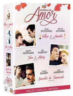 DVD Coleção Histórias de Amor - Edição Limitada - 3 Discos