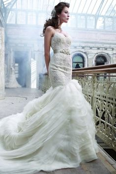 Lazaro 3201 Wedding Dress | Wedding Dresses on Sale at Tradesy