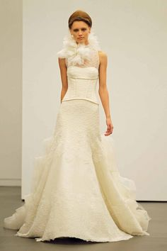 This article is in Wedding Dresses , and it is about Bridal Collection, fashion, featured, glamour, Vera Wang, wedding dresses