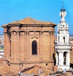 Borromini. Sant'Andrea delle Fratte, Roma. Cúpula y campanile.