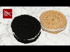 Mini tutorial 9: Cupcakes miniatura tejidos a crochet / English subtitles: crochet mini cupcakes - YouTube