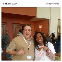 Two years ago today hanging out with the UOP rockstar. That was a great time and I can't wait to do it again.