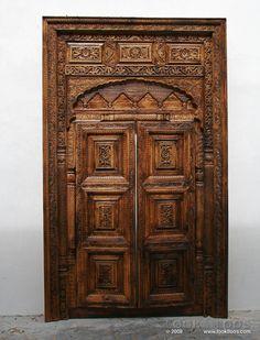 Door inside sultan hassan mosque cairo by marwa maher for Window palla design