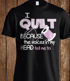 I quilt
