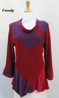 viscose knit...with patchwork .tunic more...www.msemmadesigns.com